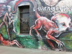 5. Melbourne Street Art - Fitzroy North Sept 2014 Photo graphed by Karen Robinson.JPG