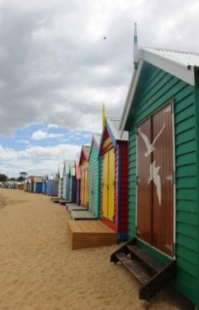 No. 4 Brighton Bathing Boxes at Dendy Street Beach Australia Day Weekend 2015 Photo taken by Karen Robinson .JPG