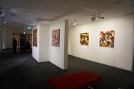 No. 31 - 'When words are hard to find' Solo Exhibition of Karen Robinson 6.5.15 Gallery ready for Opening night at Gee Lee-Wik Doleen Gallery for Exhibition.JPG