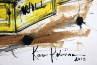 No. 4 of 6 Creative Writing Group Session 'Where there is a will...there is a solution!' by Karen Robinson Abstract Artist 1.8.15 NB All images are protected by copyright law.JPG