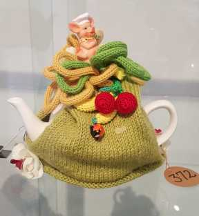 No. 14 of 101 'Teavotion' Group Exhibition of 100's of Teacosies at Bundoora Arts Centre March 2016 photographed by Karen Robinson