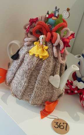 No. 17 of 101 'Teavotion' Group Exhibition of 100's of Teacosies at Bundoora Homestead Arts Centre March 2016 photographed by Karen Robinson
