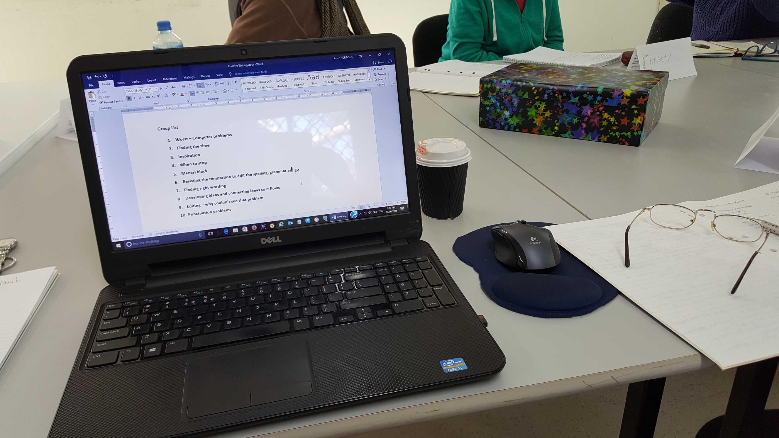 Creative Writing Group