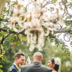 Wedding Ceremony at Hummingbird House