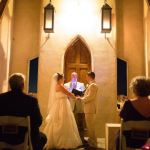 Austin officiant bride and groom at Chapel Dulcinea