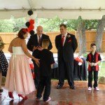 Austin Officiant and Family at wedding