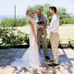 Happy Couple Dylan & Jenny Vintage Villas - Monica Salazar Photography