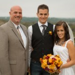Austin Wedding Officiant Review with Bride and Groom