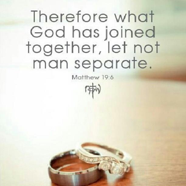 Let no man Seperate