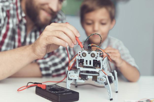 Sistema stem em diálogo com a robótica educativa