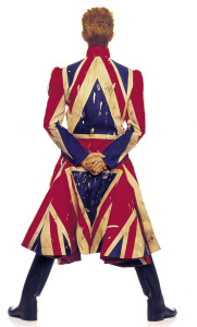 David Bowie/Alexander McQueen coat, photographed by F Oeckenfels
