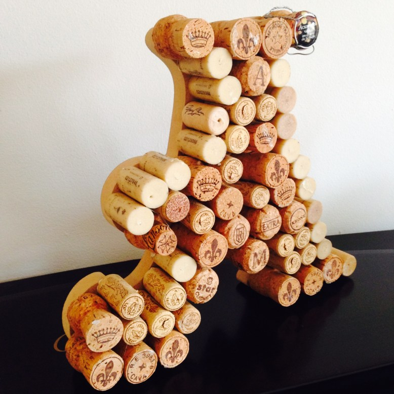 Decorate your home with Cork letters