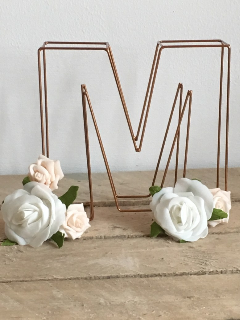 copper theme wedding