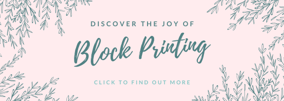 discover the joy of block printing
