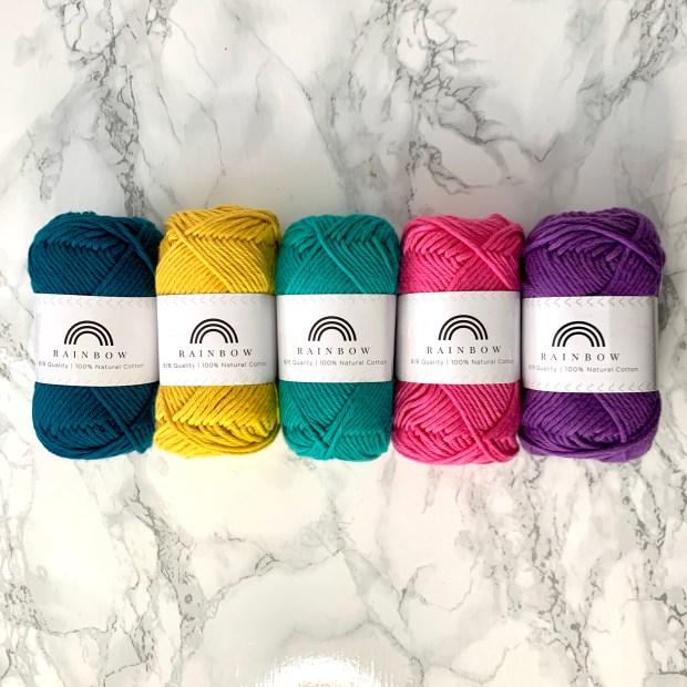 crochet kit colours