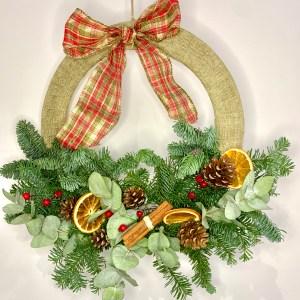 christmas wreath kit