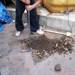 3、埋設物の確認