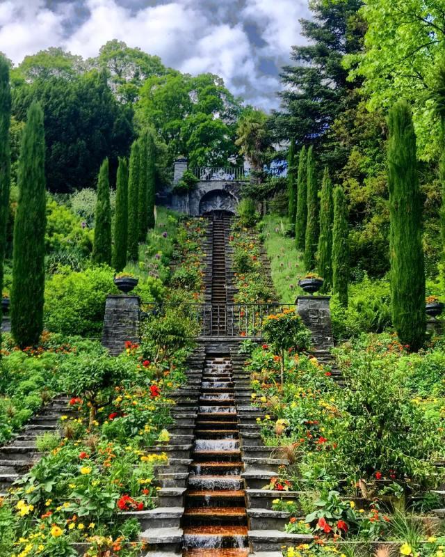 Mainau's Water Staircase