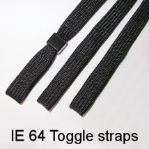 IE 64 - Toggle strap, Black