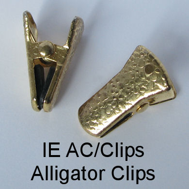 IE AC/Clips - Alligator clips for spectacle chains