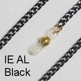 IE AL - Aluminium chain, Black
