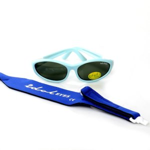 Baby Wrapz 2, Baby blue convertible baby sunglasses