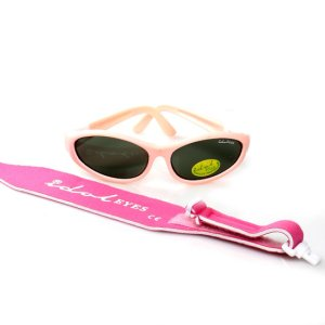 Baby Wrapz 2, Baby pink convertible baby sunglasses