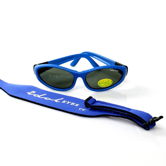 Baby Wrapz 2, Blue convertible baby sunglasses