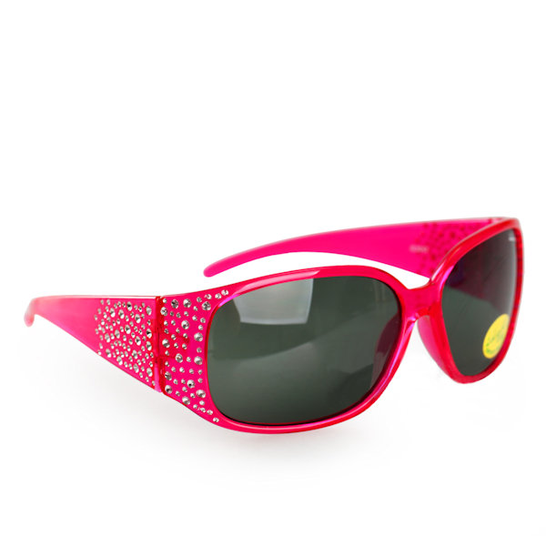 Kids I - IE3043, Crystal pink girls sunglasses