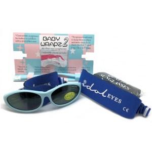 Idol Eyes - Baby Wrapz 2 sunglasses, Baby blue pack open