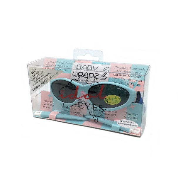 Idol Eyes - Baby Wrapz 2 sunglasses, Baby blue pack