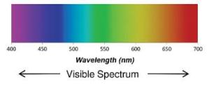 visible light spectrum