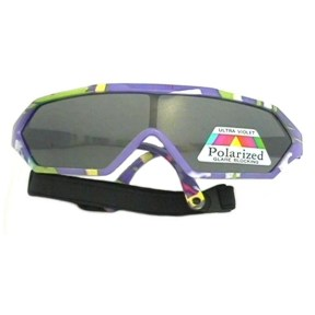 Tiny Tots II - IE7155S, Purple with G-15 polarized lens