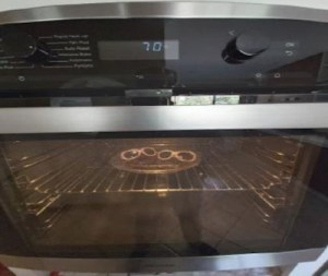 Oven aging test
