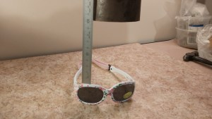 Sunglasses impact test