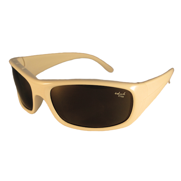IE5634 White frame with Brown mirror lens