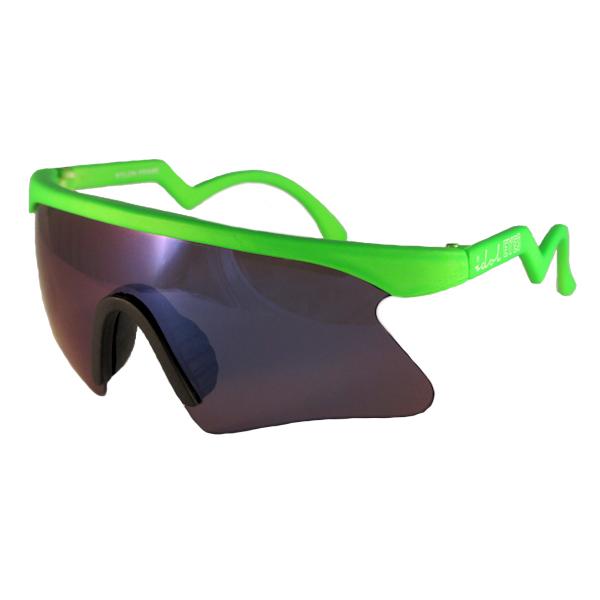 Kids I - IE 735SSX, Green frame kids blade sunglasses
