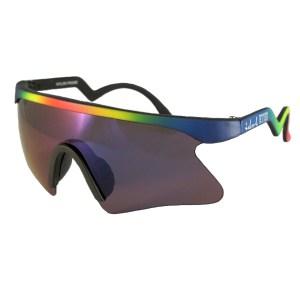 Kids I - IE 735SSX, Black - neon rainbow frame kids blade sunglasses