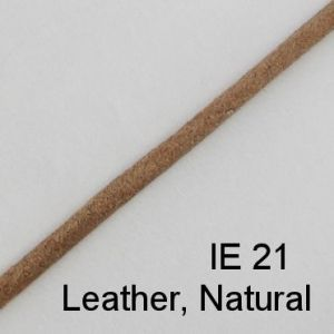 IE 21 Leather Natural spectacle cord