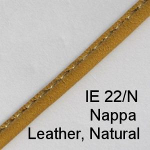 IE 22-N Nappa Leather Natural spectacle cord
