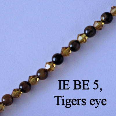 IE BE 5, Tigers eye spectacle chain