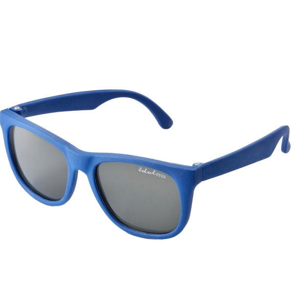 Tiny Tots II - IE1027MR, Blue frame traditional toddler sunglasses with G-15 lens