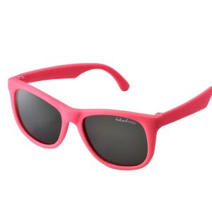 Tiny Tots II - IE1027MR, Pink frame traditional toddler sunglasses with G-15 lens
