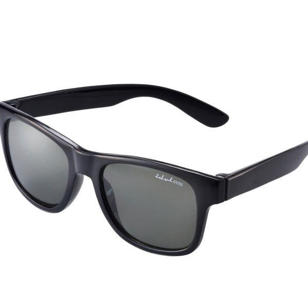 Kids I - IE9011, Black frame kids sunglasses with G-15 lens