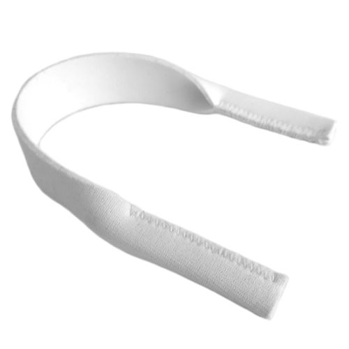 IE44K White neoprene headband - small