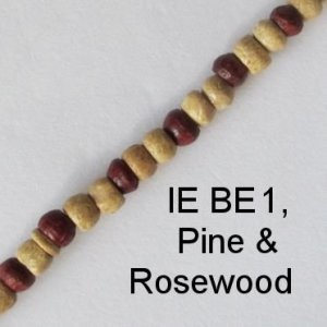 IE BE 1, Pine & Rosewood spectacle chain