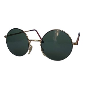 IE 141 Gold, Classic metal round sunglasses