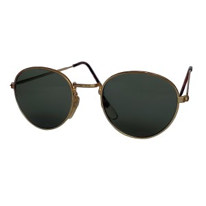 IE 051 Gold, Classic metal panto sunglasses