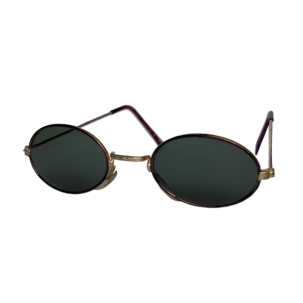 IE 054 Demi, Classic metal oval sunglasses