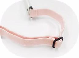 IE5630 baby pink adjustable elastic headband